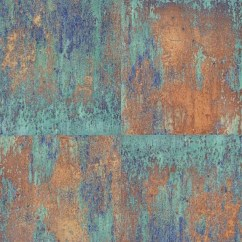 Navy Blue Kitchen Decor Organizing Cabinets As Creation Wallpaper | Neue Bude Oxidized Copper 36118 ...