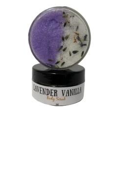 The Lavender Vanilla Scrub from Aroma Delights.