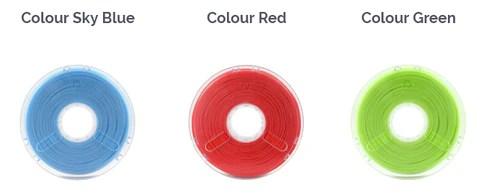 Copper 3D antibacterial filament examples