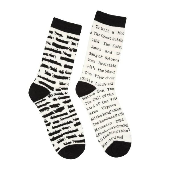 Banned Books Socks