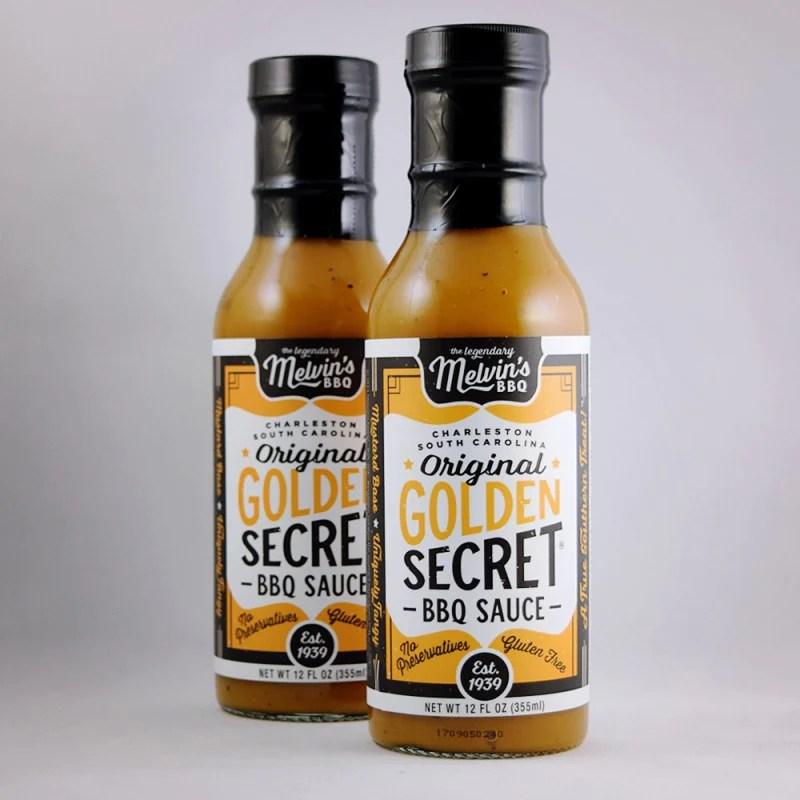 Melvin' Original Golden Secret Bbq Sauce Gullah Gourmet