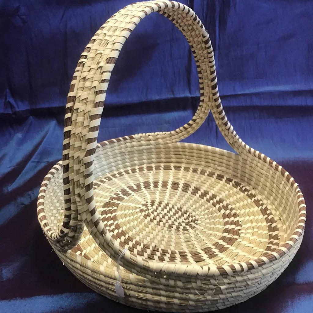 Oval Basket With Handles Gullah Gourmet