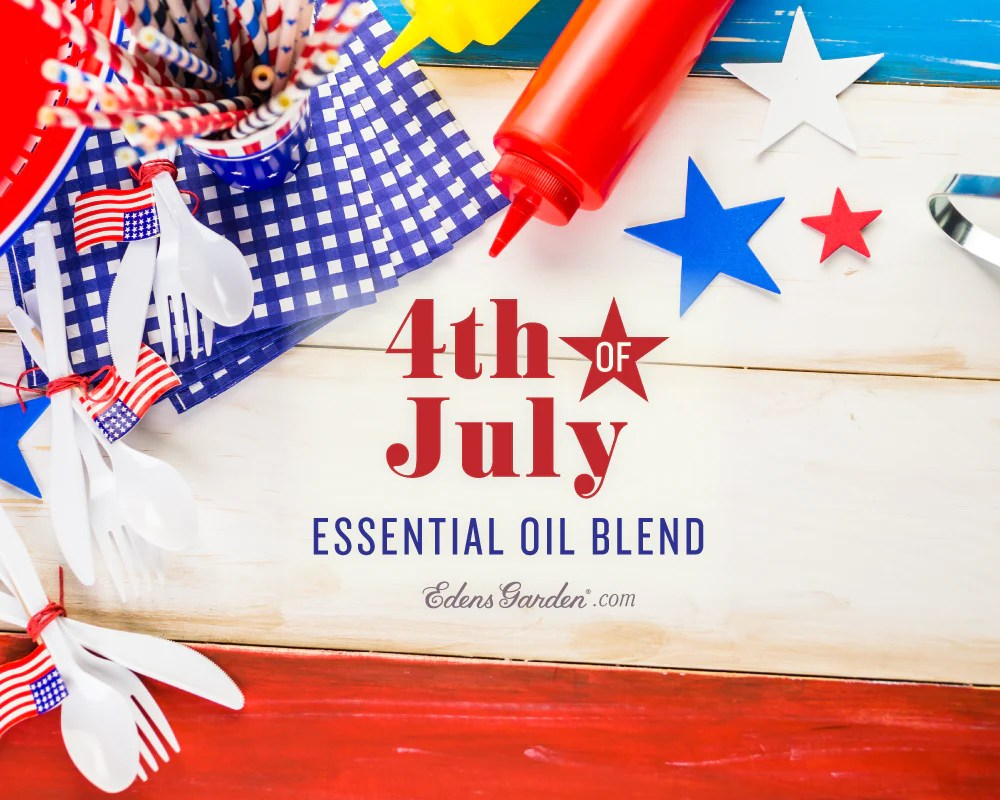 Red White And Blue Essential Oil Blend July 4th