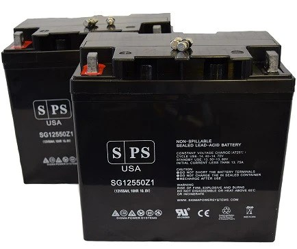 wheel chair batteries hanging for two pride mobility jet 1 ats wheelchair battery set sigma