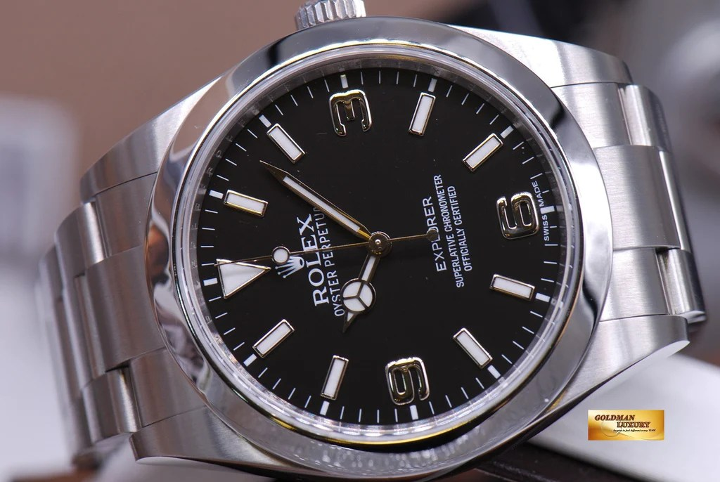 [SOLD] ROLEX OYSTER PERPETUAL EXPLORER I Ref 214270 – Goldman Luxury