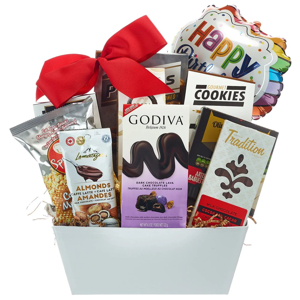 Birthday Gift Basket Heavenly Sweet For Her Or Him My