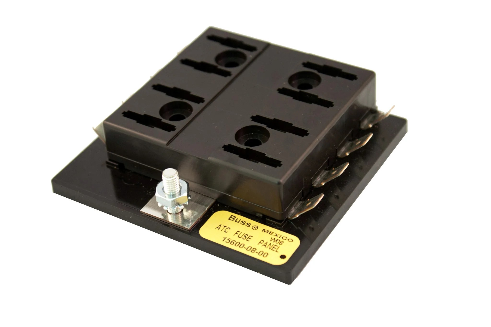 small resolution of part 15600 08 20 bussmann fuse block for atof atc fuses or blade ty road runner connect inc