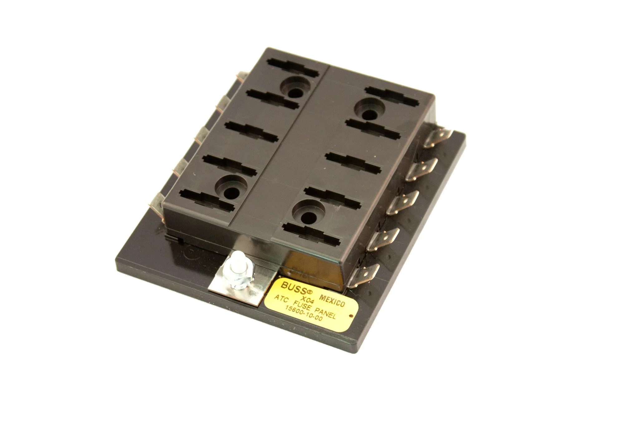 small resolution of part 15600 10 20 bussmann fuse block for atof atc fuses or blade ty road runner connect inc