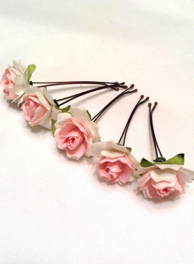 hair accessories. hair pins. bobby pins. flower hair pin