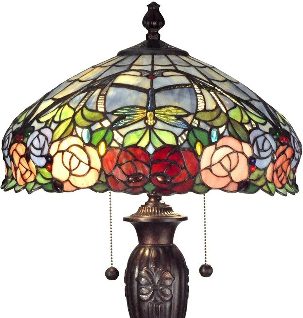 tiffany lamps stained glass lamps