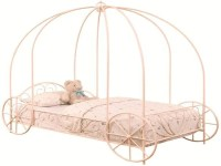 Cinderella Twin Carriage Canopy Bed  Katy Furniture