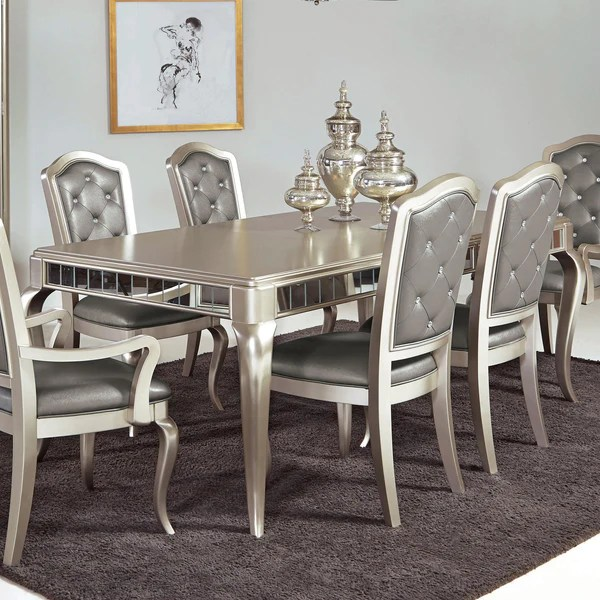 button tufted sofas lodge sectionals diva table w/ 6 chairs – katy furniture