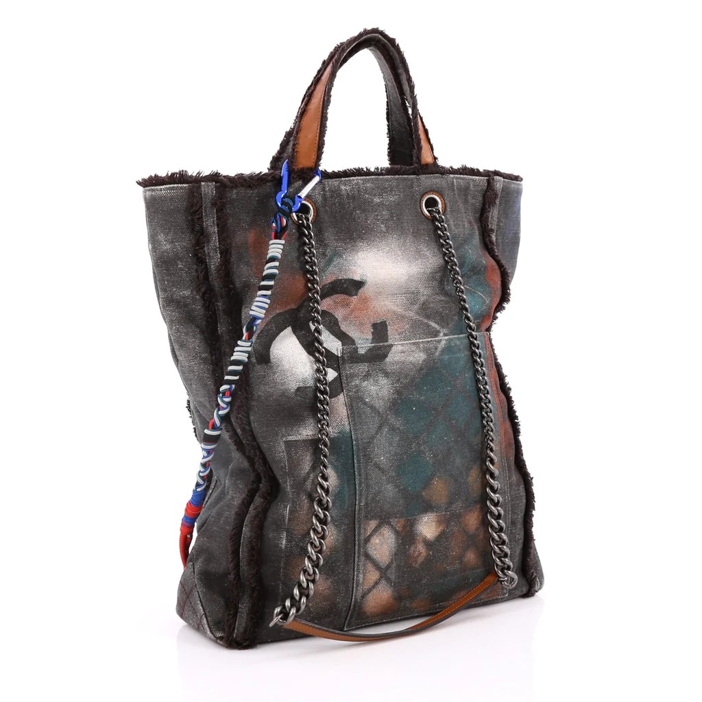 4df5f8b35132 20+ Chanel Graffiti Canvas Bag Pictures and Ideas on Meta Networks