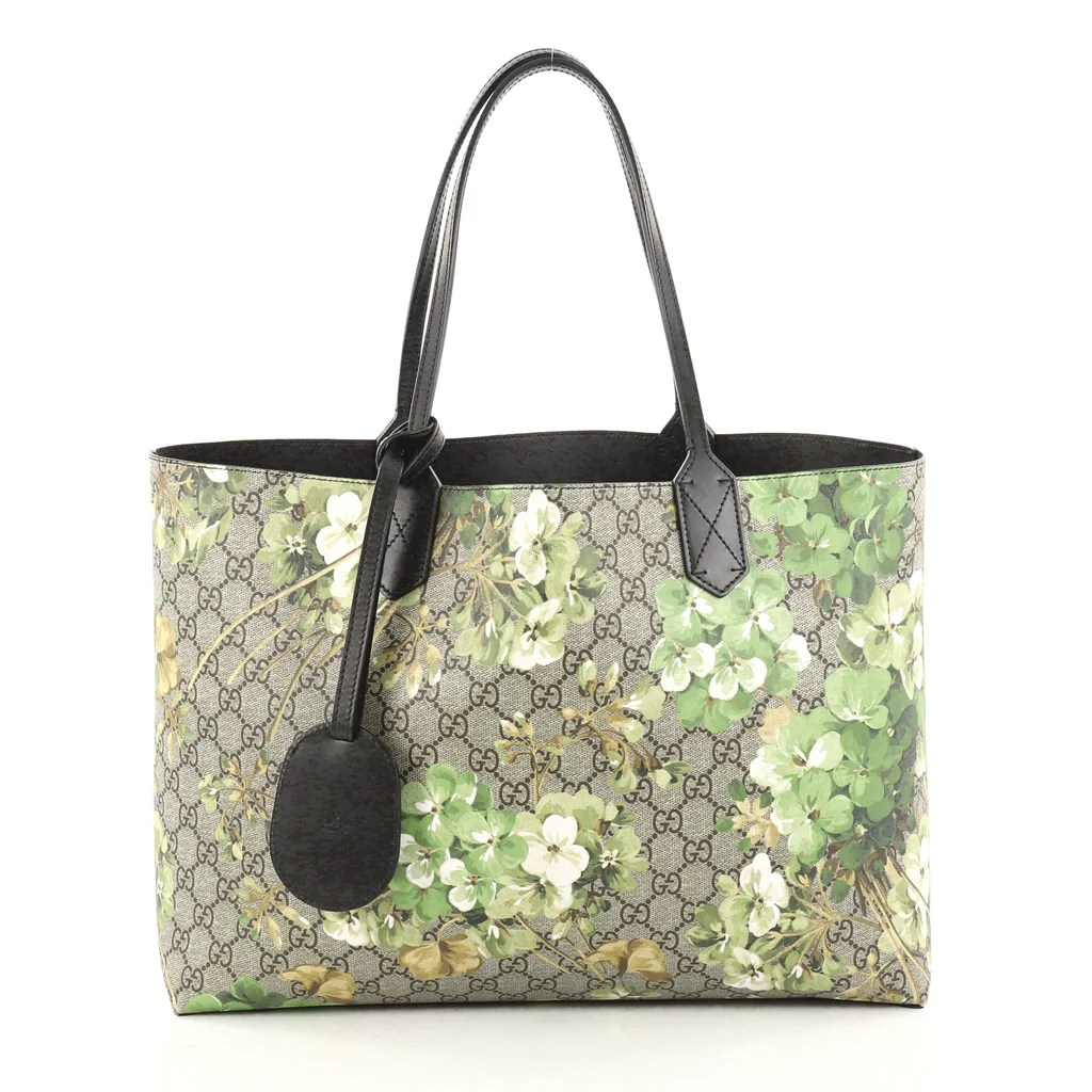 b854c762fe2 Buy Gucci Reversible Tote Blooms Gg Print Leather Medium 2810702 Rebag
