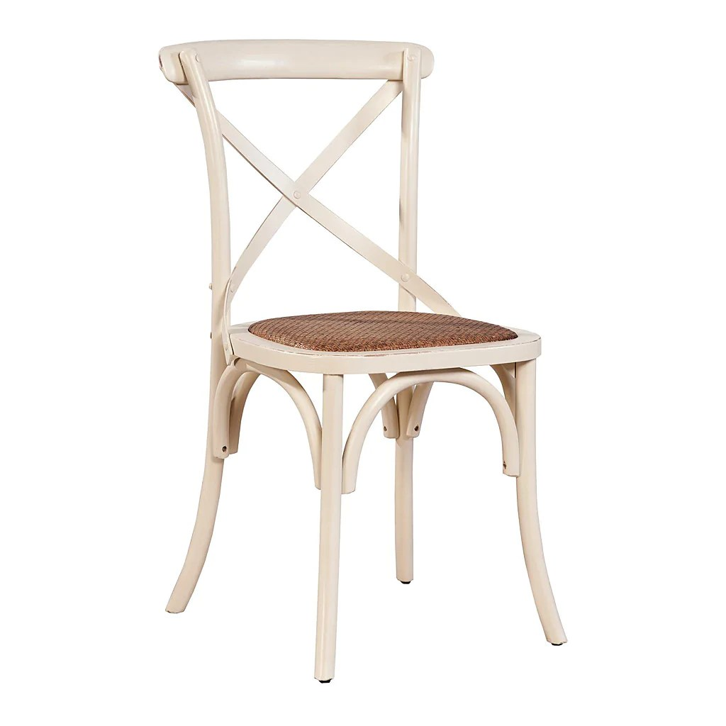 paris side chair best ball bistro cross back set of 2
