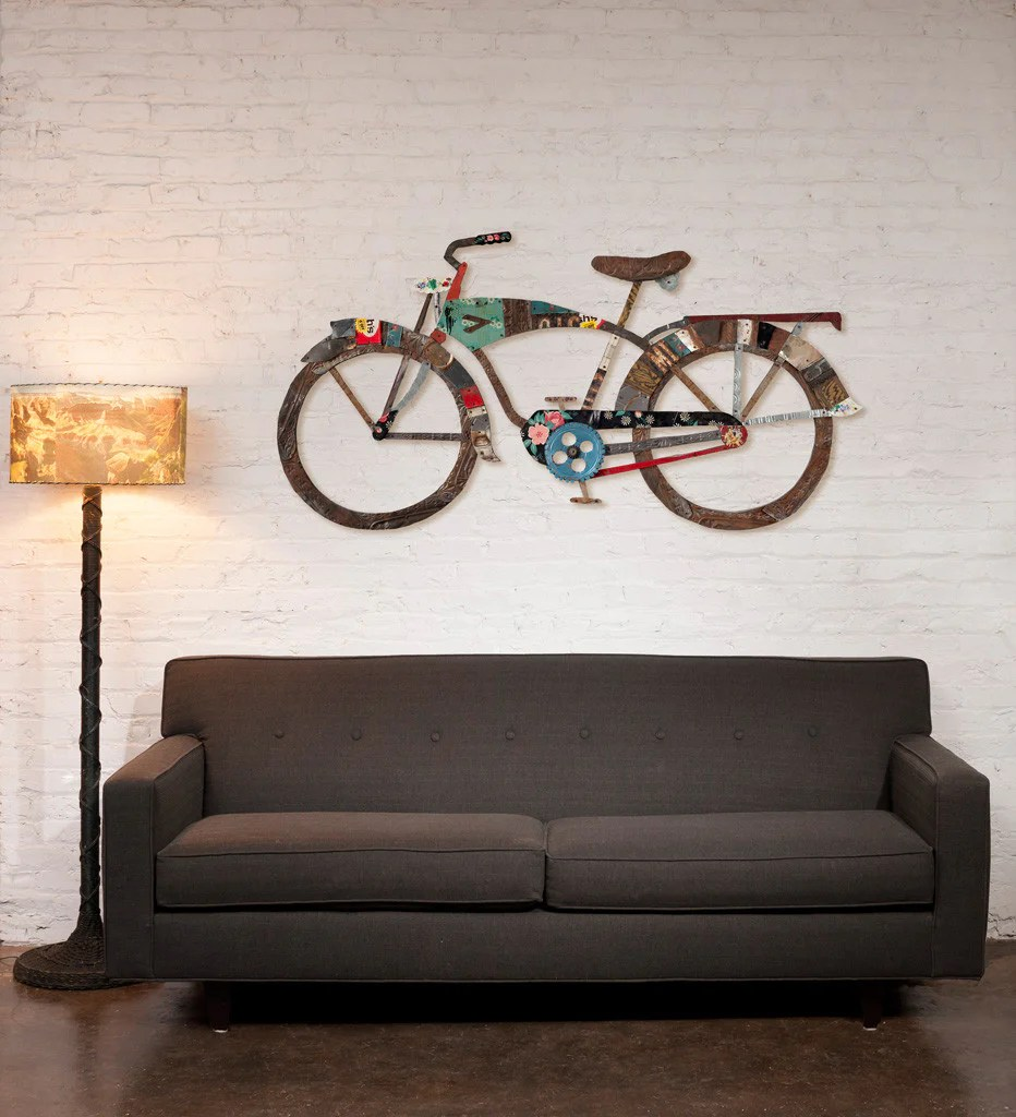 Industrial Bike Wall Art Sculpture Dolan Geiman