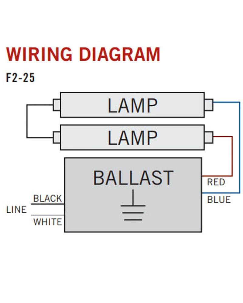 medium resolution of electronic ballast accupro 1 or 2 lamp t8 ap rs 232is 120 orilis t8 instant start ballast wiring