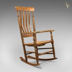Antique Rocking Chair Selig Plycraft Lounge Parts Georgian Oak And Ash  London Fine