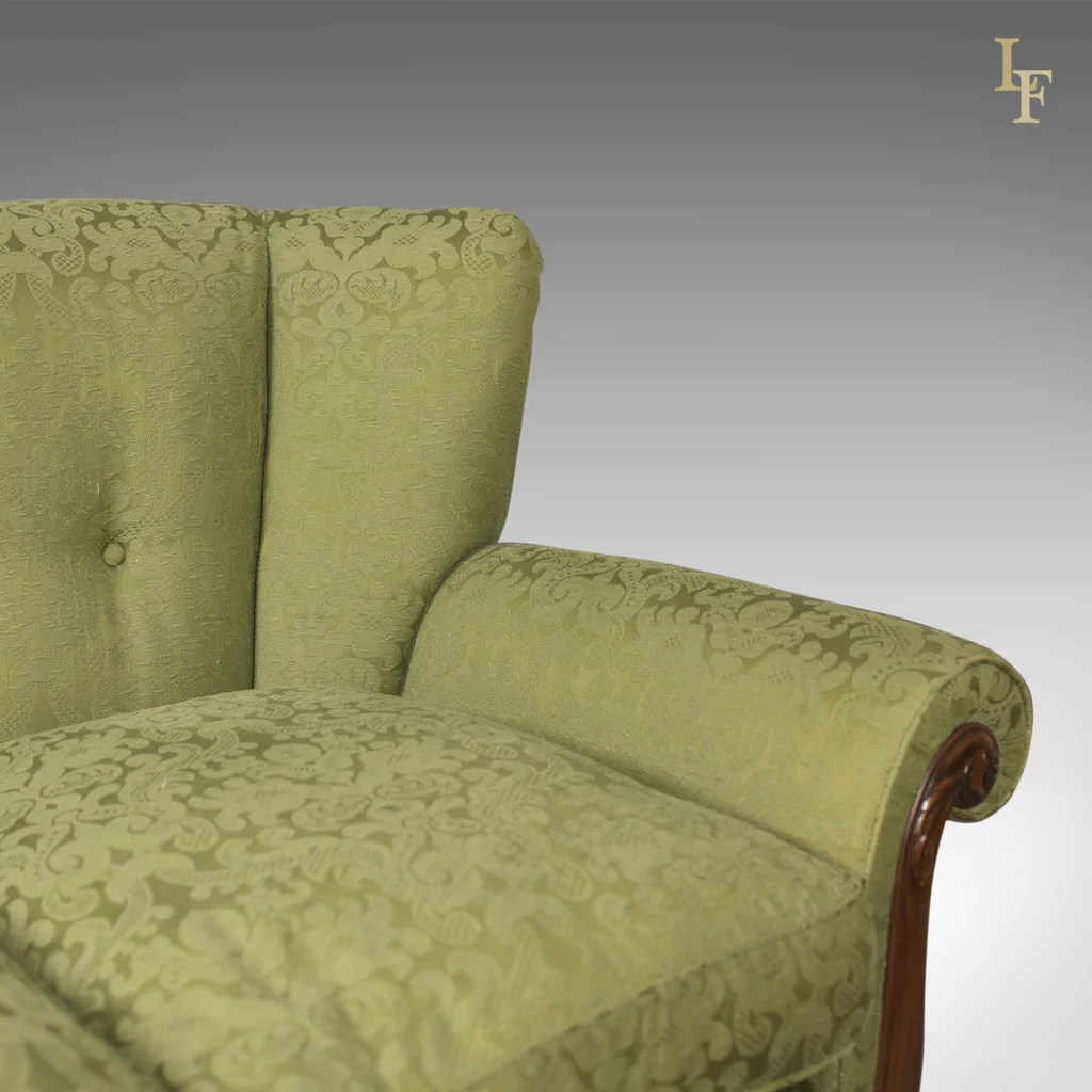 english sofa company manchester mid century leather australia antique green edwardian 3 seater settee c