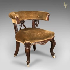 Reading Chairs Uk Wedding Banquet Chair Covers Early Victorian Bow Back Armchair English Walnut