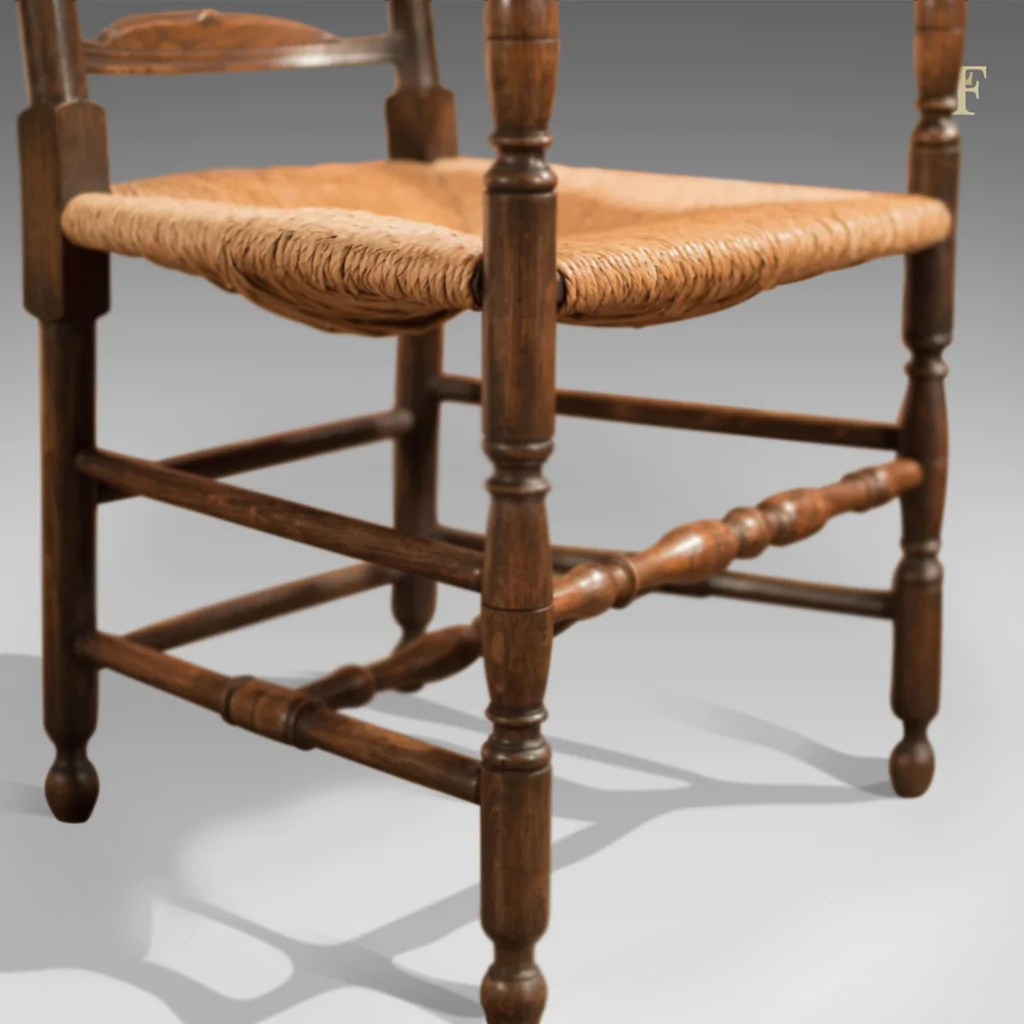 antique ladder back chairs uk kitchen arm elbow chair dining ladderback c 1900  london