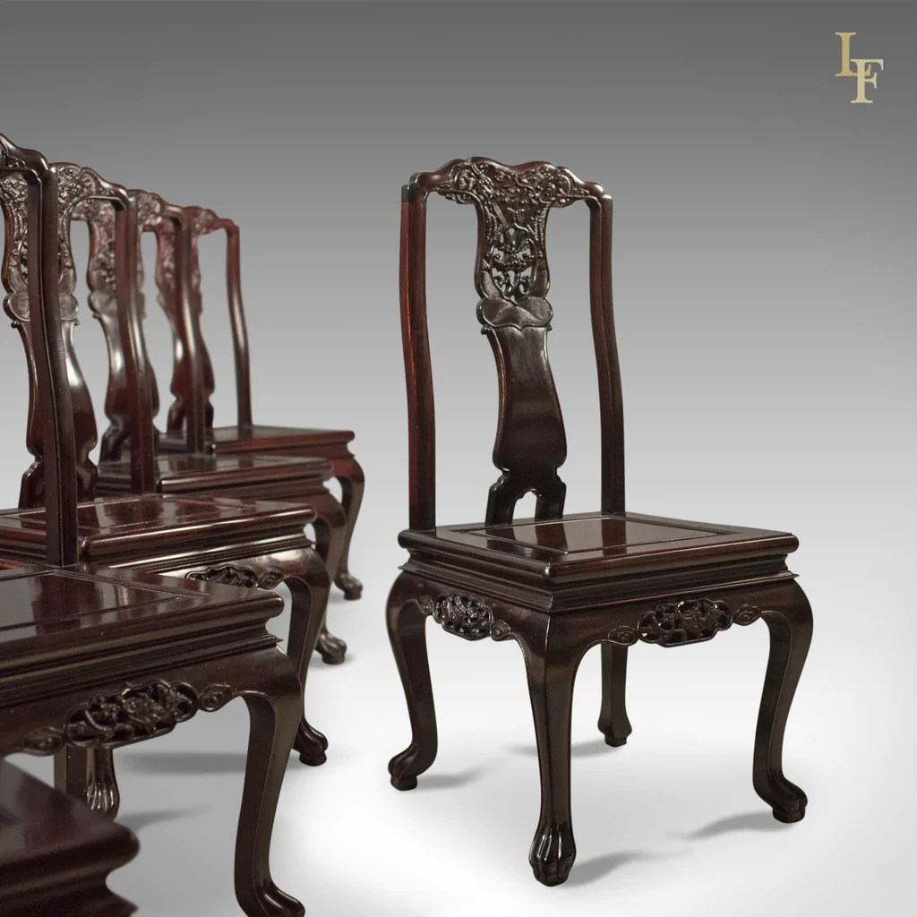 chinese rosewood dining table and chairs floor gaming chair canada traditional oriental set of 6