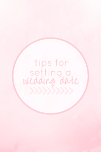 Set a wedding date / Wedding planning advice / How to set ...