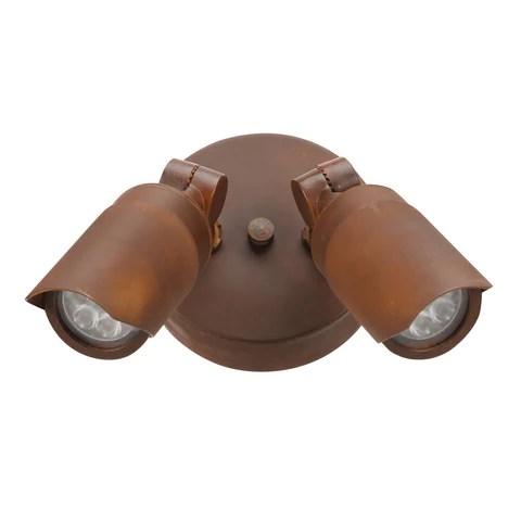 spj lighting brass led dual directional w mount canopy spj al2 8w