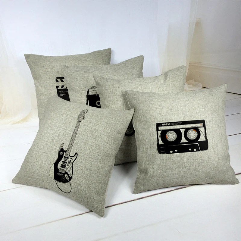 cotton pillow cover electric