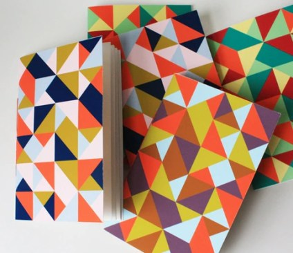 simple shapes pattern
