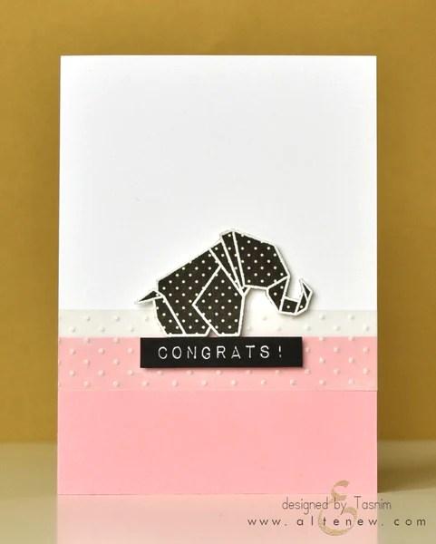 ori kami elephant card 1