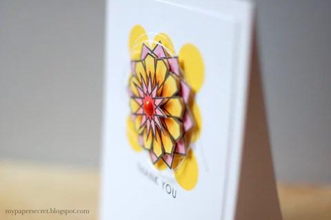 dodecagram geometric flower 2