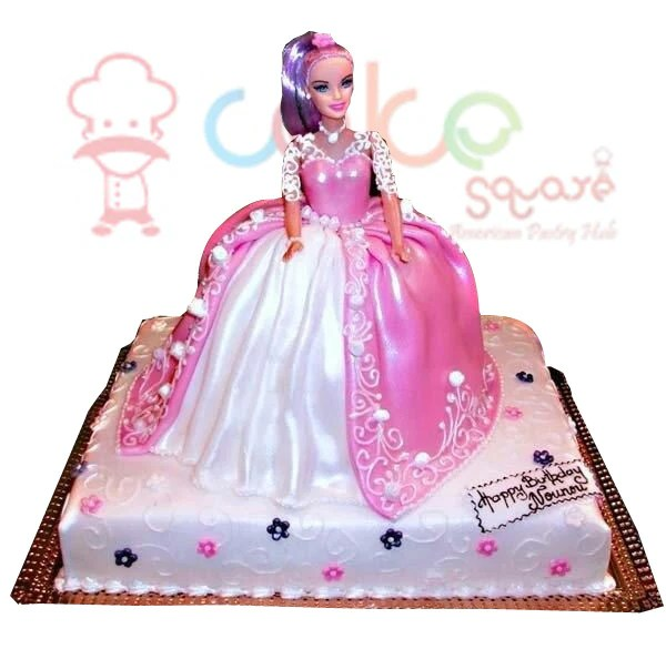 Glittery Princess – Cake Square Chennai