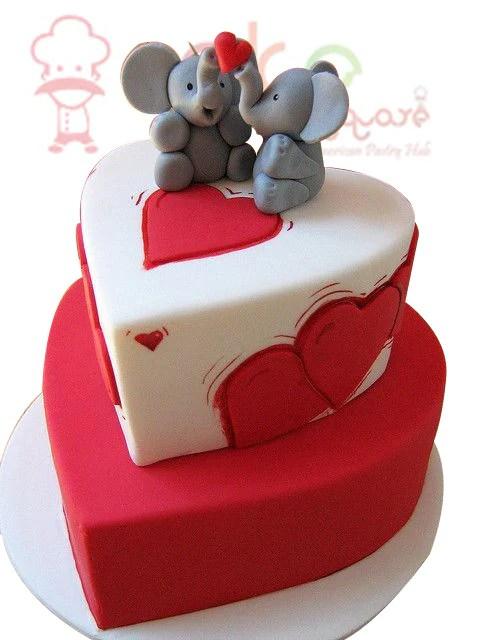 Engagement Cake – Cake Square Chennai