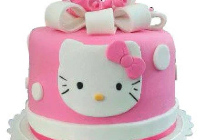 Odc172 Hello Kitty Cake Pink Cake Square Chennai