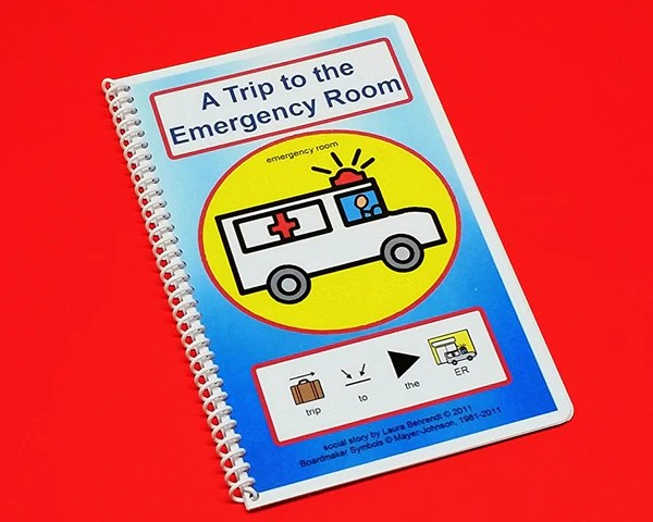 Trip to the Emergency Room  PECS Autism Social Story  Autism Whispers