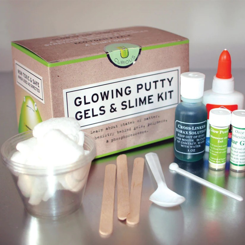Copernicus Glowing Putty Gels and Slime Kit
