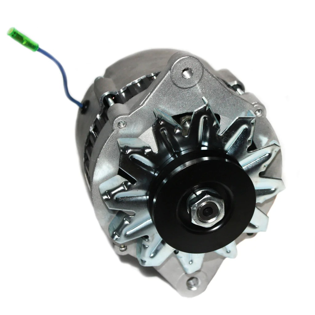 new hitachi yanmar marine alternator 12volt 80amp insulated ground armstrong distributors [ 1024 x 1024 Pixel ]