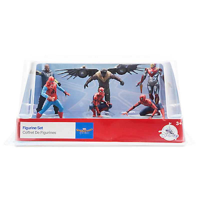 Disney Spider Man Homecoming Figure Play Set Cake Topper Playset 6