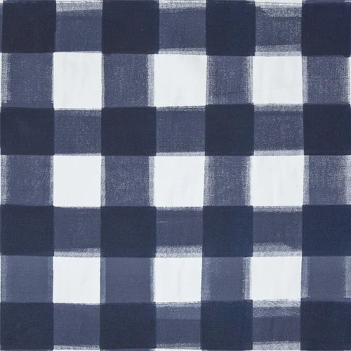 Navy Burnside Buffalo Check Swatch  Caitlin Wilson