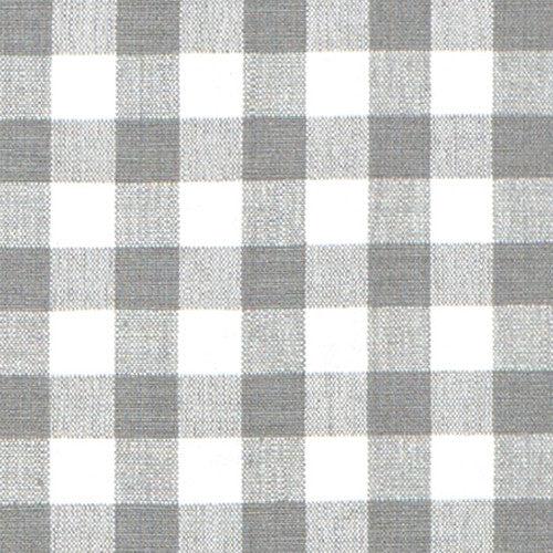 Grey Gingham Fabric Caitlin Wilson