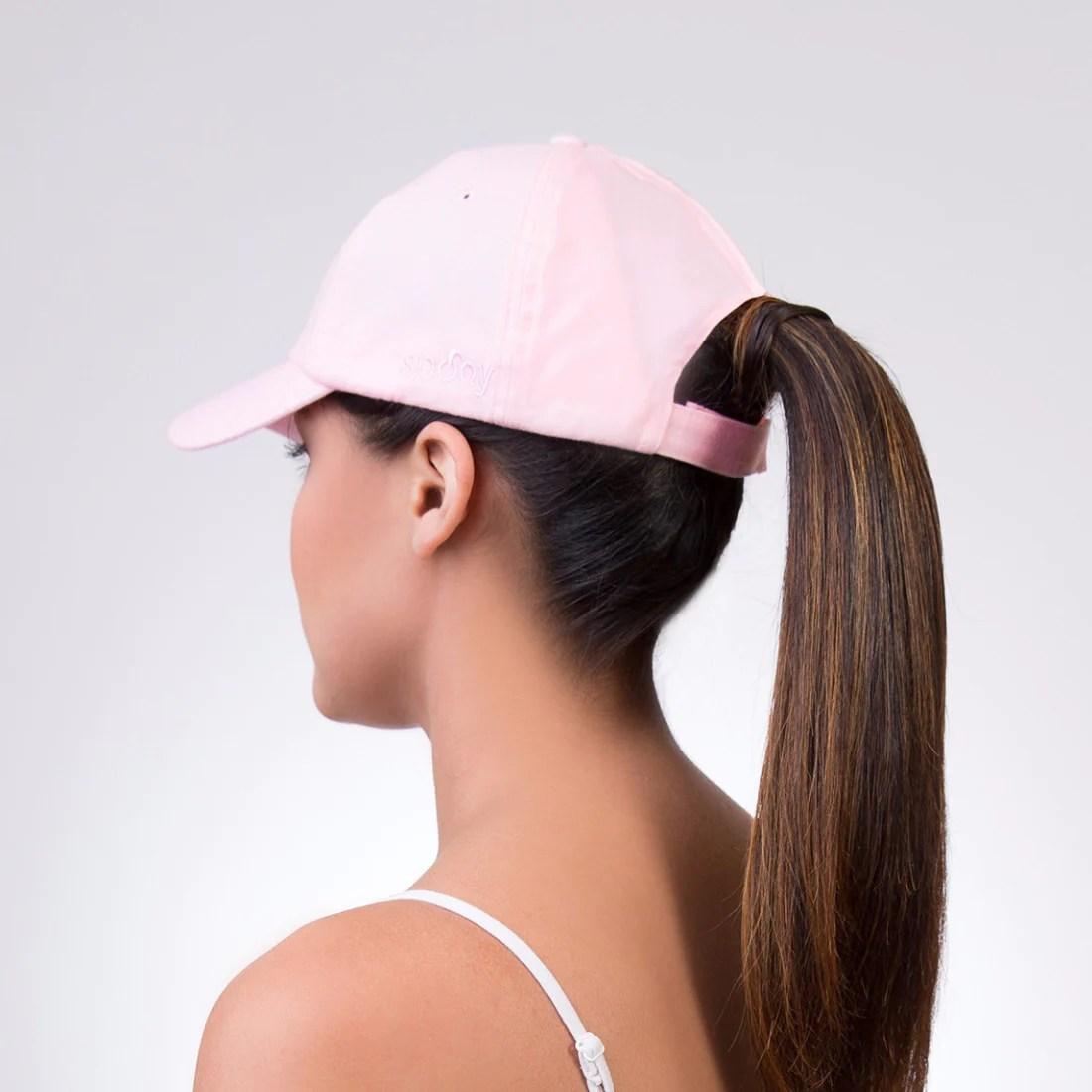 spony ponytail baseball cap - wear
