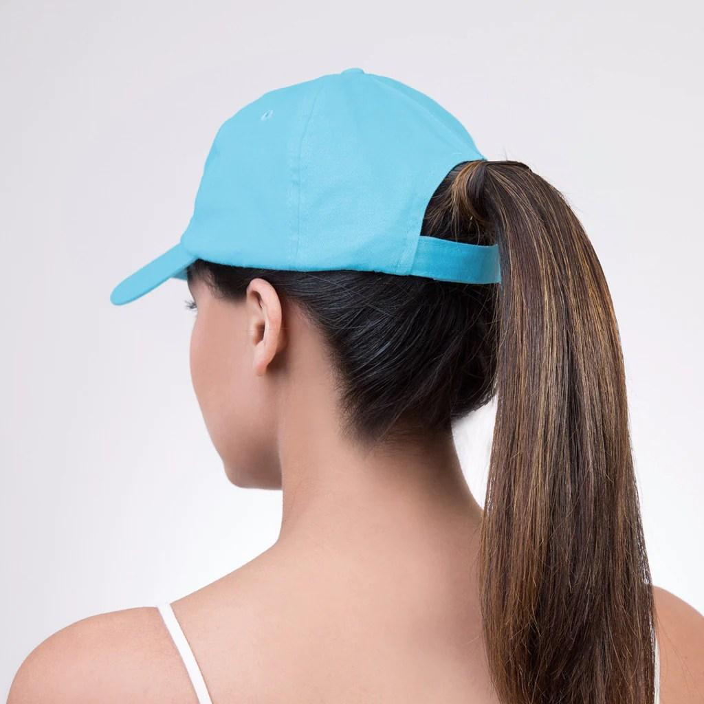 spony ponytail baseball cap-cowabunga