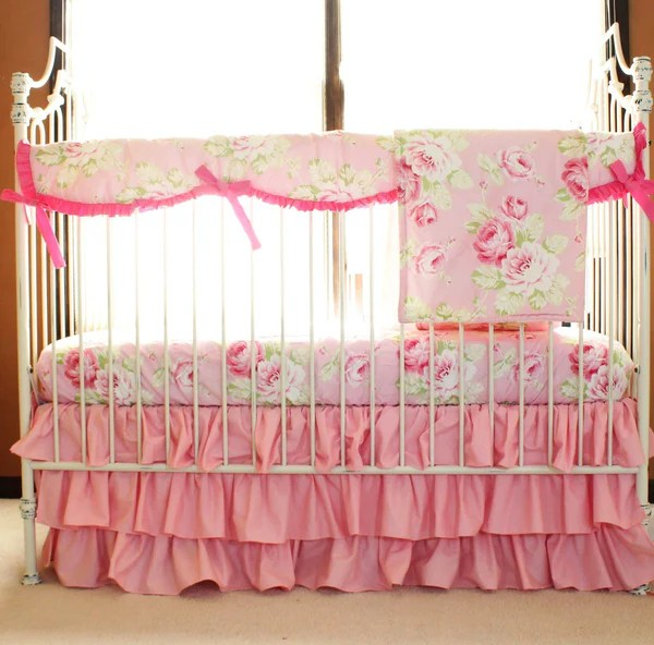 Baby Girl Crib Bedding Jack And Jill Boutique