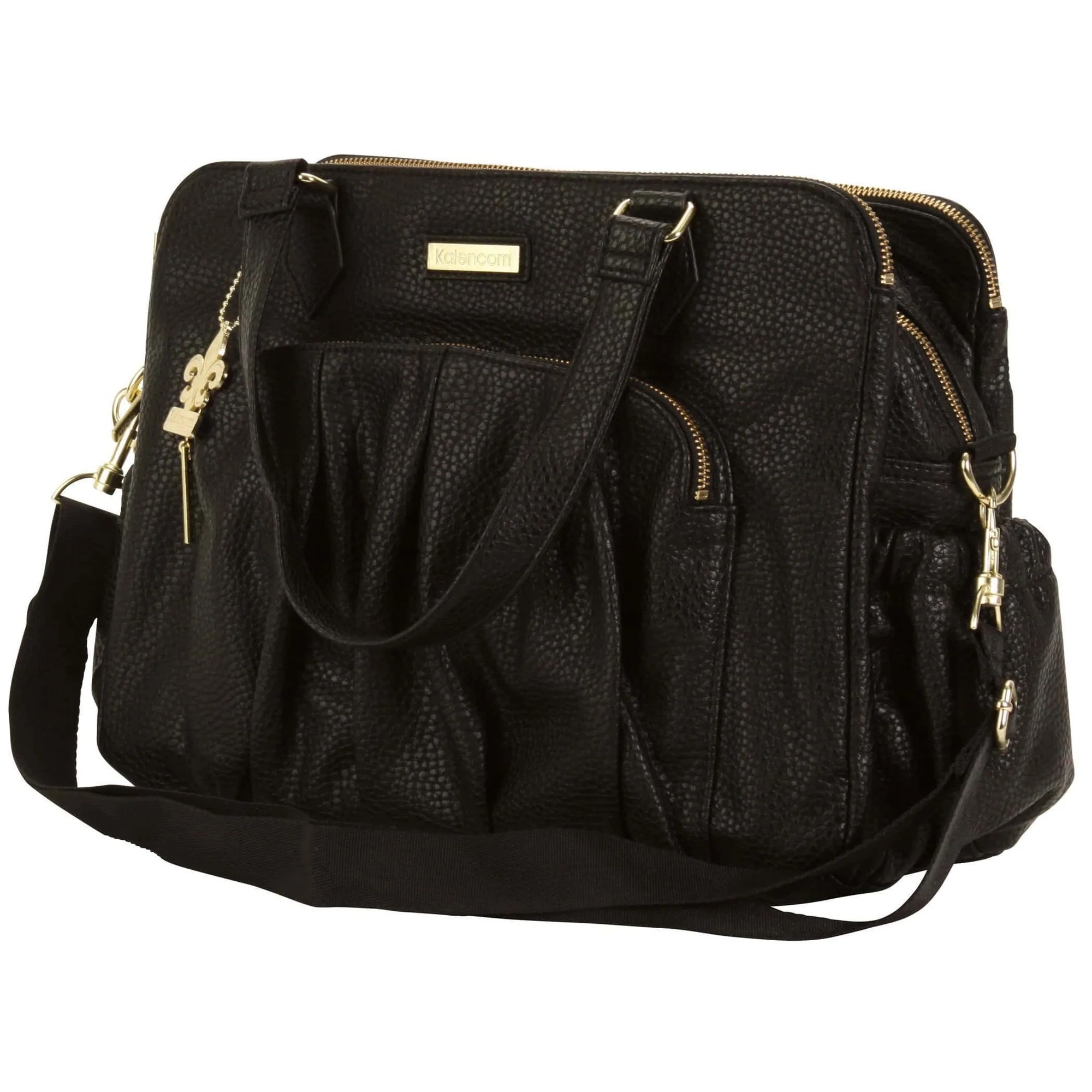 Berlin - Black Diaper Bag Style 2996 Kalencom Jack And Jill Boutique