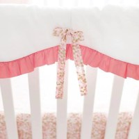 Shimmer Reflections Bumperless Crib Baby Bedding Set
