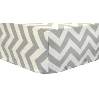 Sweet & Simple Seperates - Gray Solid Baby Bedding Set ...