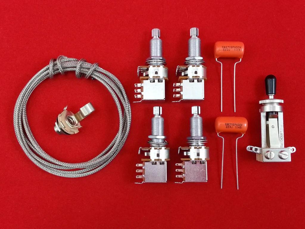 les paul wiring diagram push pull stratocaster guitar pots tone pot