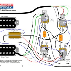 Gibson Les Paul 50 S Wiring Diagram Honda Civic Radio Kit - Jimmy Page Paul® Style – Allparts Uk