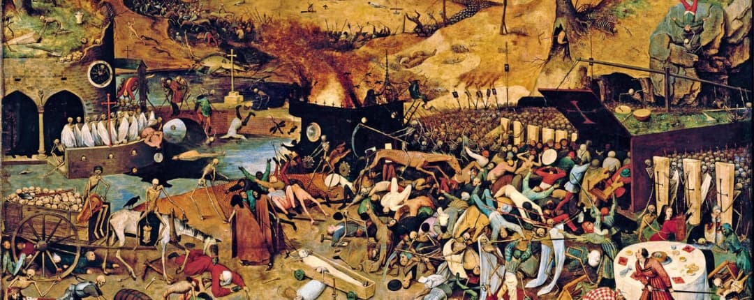 Painting of the Black Death